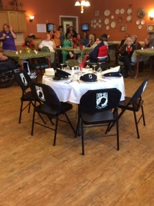 Table at Rolling Thunder